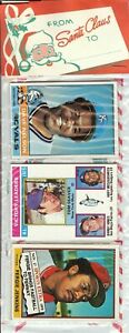 1976 Topps Baseball Holiday Christmas Rack Pack Rookie RC? HOF Tom Seaver Top
