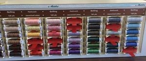 METTLER QUILTING COTTON THREAD- 40W  ART136- -164 YARDS- MANY COLOR CHOICES