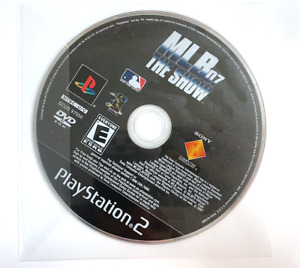 MLB 07 The Show (Sony PlayStation 2, 2006) PS2 Disc Only