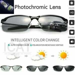 Men's Photochromic Polarized Sunglasses with Aluminum Alloy Frames MUST SEE!!!