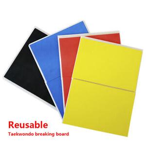 Taekwondo Reusable Breaking Board Karate Martial Arts Training Equipment
