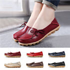 New Fashion Women Leather Shoes Loafers Soft Flats Female Casual Shoes