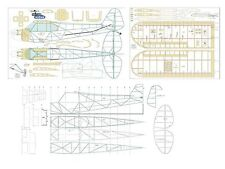 """Piper J3 Club  full Size Balsa Model Airplane Printed Plans by Paolo Severin 63"""""""
