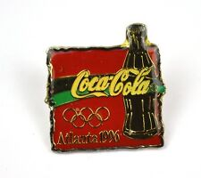 COCA COLA COKE EE.UU. Solapa Pin PIN BADGE Broche - ATLANTA 96 Botella