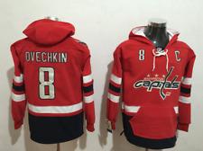 Alexander Ovechkin Washington Capitals NHL Jersey Red Hoodie Sweatshirt S-3XL