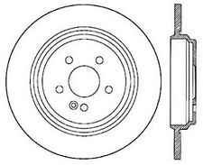 Disc Brake Rotor-Sport Drilled Disc Rear Left Stoptech 128.35043L