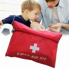 Red First Aid Kit Outdoor Camping Emergency Survival Bag Waterproof Medical