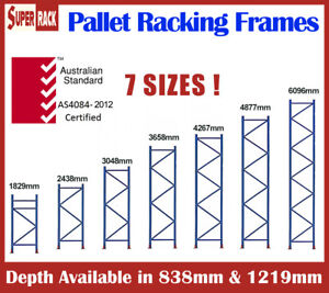 Brand New Heavy Duty Pallet Racking Frames Dexion Compatible