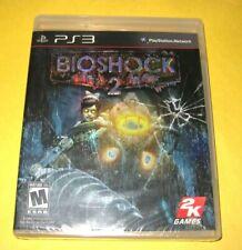 BioShock 2   Sony PlayStation 3 PS3   Brand New Y-Fold Sealed Black Label