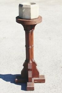 Font IHS – 19th Century Solid Oak – Stunning Example – Circa 1840