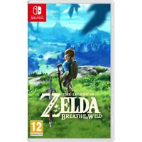 The Legend of Zelda Breath of the Wild Nintendo Switch Game UK Stock