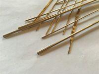 Model Engineering Brass Round Bar 1mm 1.5mm 2mm 2.5mm 3mm 2.38mm 1.58mm 3.18mm