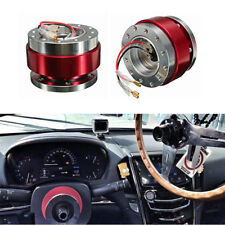 Auto Car Quick Release 6 Hole Steering Wheel Adapter Aluminium Snap Off Boss Kit Fits 1997 Toyota Corolla