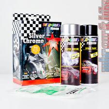 Dupli-Color Silver Chrom Acryl Chromspray silber Komplettset inkl. Grundierung