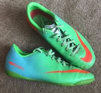 Youth Nike mercurial indoor soccer shoes Size 3.5Y Light Use