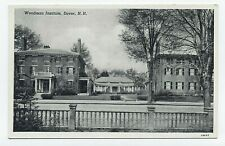 NH ~ Woodman Institute DOVER New Hampshire c1920's Strafford County Postcard