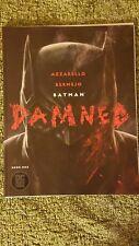 Batman Damned #1 1st Print Uncensored (Batawang Edition) Bermejo cover.