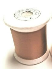 Gudebrod Nylon Rod Winding Thread Size A Lt Brown 100 Yard Spool Fly Tying