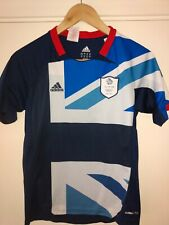 11-12 Years London 2012 Olympics Adidas Great Britain Football Shirt England