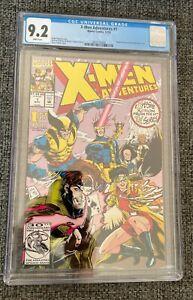 X-Men Adventures #1 CGC 9.2 Marvel 1992 1st Appearance Morph Gambit Wolverine
