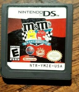 M&M's Kart Racing (Nintendo DS, 2008) VG Shape & Tested Authentic