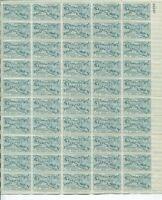 Annapolis Tercentenary 1949 3c STAMPS USA FULL SHEET 50 MNH SCOTT #984 (E9 01 )