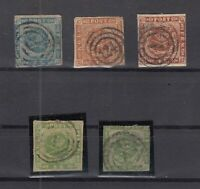 R4057/ DENMARK – 1854 / 1864 USED CLASSIC LOT – CV 515 $