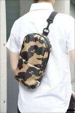 A Bathing Ape Bape Camo Cushion Travel Daily Crossbody Messenger Shoulder Bag
