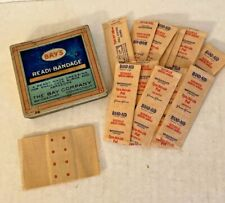 Vintage Bay's Readi-Bandage Tin The Bay Company Bridgeport Conn 16 Band-Aids