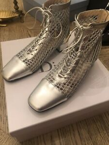 Christian Dior Boots, 38, Pre-owned, With Box and Dust Bag 100%Authentic.