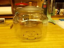 Vintage Counter top Unmarked Snack Cookie Cracker Advertising Jar Tom's/Lance