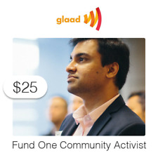 $25 Charitable Donation For: Fund One Community Activist