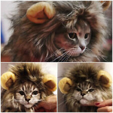 15574c1ad32 Lion Mane For Pets Cat Dog Hat Costume Clothes Wig For Dress Up Suit With  Ears