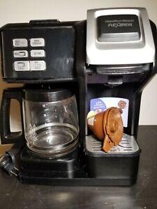 Hamilton Beach FlexBrew 12-Cup Coffee Maker Black 49976