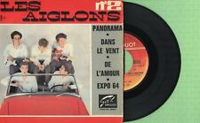 LES AIGLONS / Panorama, Expo 64 / FESTIVAL 71004 Pressing France 1963 EP G+