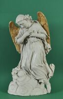 Antique terracotta figure of an angel, 19th century