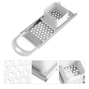 Stainless Steel Spaetzle Maker With Comfort Grip Handle For Noodle Dumpling