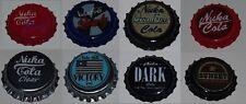 Fallout Bottle Caps x 8. Fan Made.