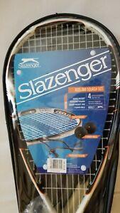 Slazenger XCEL 250 Aluminum Composite Construction Squash Racket Starter Set