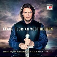 """KLAUS FLORIAN VOGT """"HELDEN"""" CD NEUWARE"""