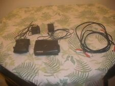 Amphony 5.8 Ghz Digital Wireless Audio Transmitter Model 1500 + 2 RCA cords