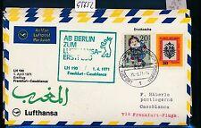 95652) LH FF Frankfurt - Casablanca 1.4.71, SoU ab Berlin