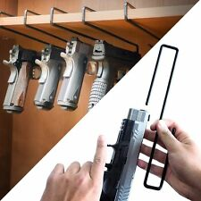 Gero Gun 5 Hanger Safe Storage Pistol Rack Holder Holster Organizer Display Hook