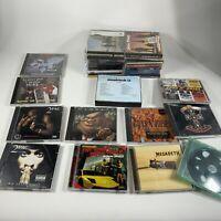 Huge lot heavy metal rock CDs Pink Floyd Megadeath Guns n Roses and more (AS IS)