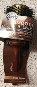 GOODY Smooth Blends Round Boar Ceramic Infused Brush  #45697 NEW
