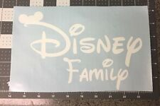 DISNEY FAMILY VINYL DECAL STICKER FOR CARS TRUCKS WALLS LAPTOPS Airplanes