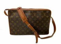 LOUIS VUITTON Sac Bandouliere 35 Shoulder Bag Monogram Leather A-1240