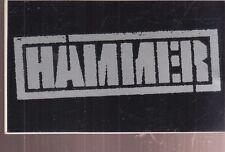 hammer sticker for the funky headhunter mc hammer