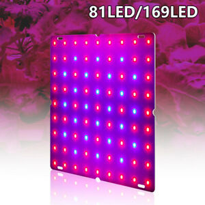 81/169 LED Pflanze UV Grow Light Vollspektrum Veg Lampe Hydroponic Indoor DE