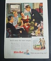 1946 White Rock mineral water keeps you sparkling to Vintage color AD